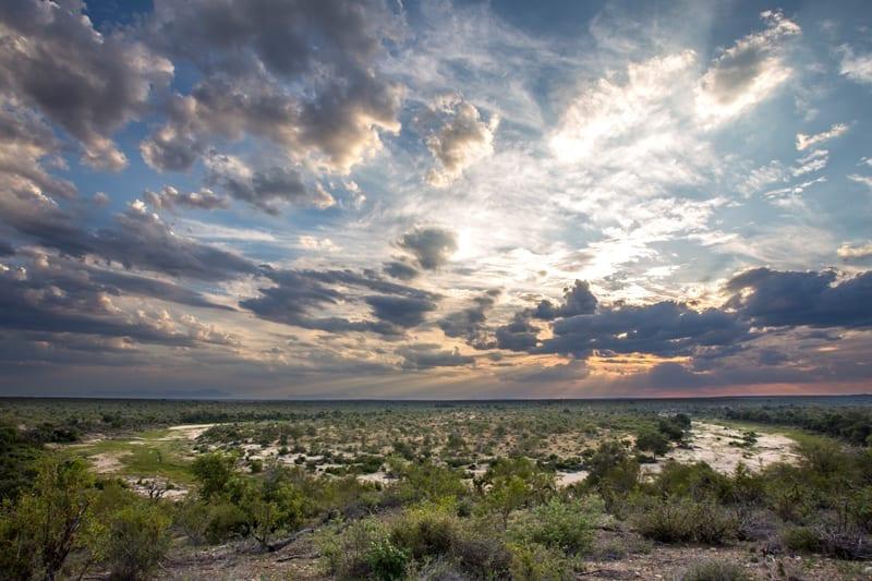 Secret Africa - Landscape View - Sunset - Amani Safari Camp